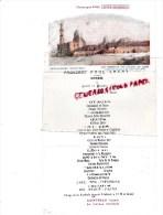 MENU PAQUEBOT PAUL LECAT - TOMBEAUX DES CALIFES AU CAIRE* GILBERT GALLAND- 11-10-1928- COINTREAU-PIPER HEIDSIECK - Menus