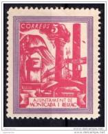 Año 1937 - Montcada Y Reixac ( Barcelona )  5 Cts - Sofima 18 Guerre Civile Espagne  ** Spain Civil War * - Fábricas Y Industrias