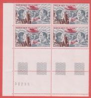 1973 ** (sans Charn., MNH, Postfrish)  Yv PA 48 Bloc De 4 Coin Numeroté - 1960-.... Nuovi