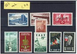 SAAR...1950's...mh - 1947-56 Protectorate