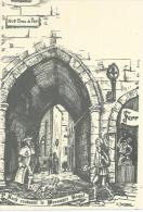 MONTPELLIER - RUE BRAS DE FER - St ROCH CROISANT LE MESSAGER ROYAL  ( Déssin : Guy JEANJEAN  ) - Illustrators & Photographers