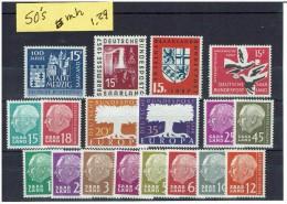 SAAR...1950's...mh - 1957-59 Federation