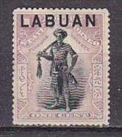 LABUAN - N°Y&T - 71 - 1c Lilas Et Noir - (N) - Timbres