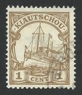 German Kiautschou, 1 C.  1905, Sc # 23, Mi # 18, Used. - Colony: Kiauchau