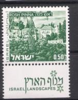 Israel - 1971, Michel/Philex No. : 531 With 2  Phosphorstripes - MNH - *** - Full Tab - Israel