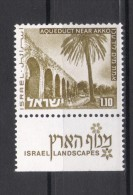 Israel - 1973, Michel/Philex No. : 601 With 1  Phosphorstripe  - MNH - *** - Full Tab - Israel