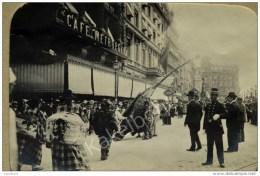 Stoeterij Op De Boulevard Ad. Max 1902 Photo Bruxelles - Avenues, Boulevards