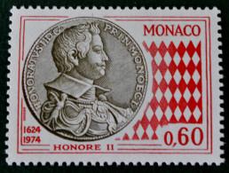 ART NUMISMATIQUE MONEGASQUE 1974 - NEUF ** - YT 980 - MI 1137 - Unused Stamps