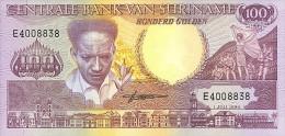 Surinam 100 Gulden 1986 Pick 133a UNC - Surinam