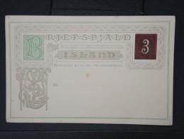 ISLANDE-Entier Postal Non Voyagé   à Voir   P5732 - Entiers Postaux