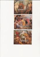 REPUBLIQUE DES COMORES - BLOCS FEUILLETS N° 20 A 22 NEUF XX  COTE : 29,50 €