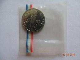 Pièce De 10 Francs Essai Des Nouvelles Hébrides 1967 - Kolonien
