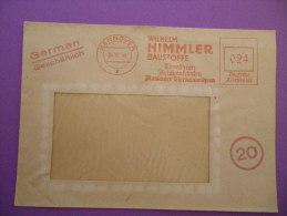 """Deutsche Post - Freistempel  26.10.1946 Noch Mit """"Deutsche Reichspost"""" Firma Himmler, Hannover - Non Classés"""