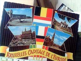 BRUXELLES VUES E AEREO AVION AIRPORT   V1973  EU17886 - Aeroporto Bruxelles