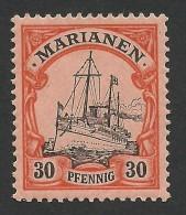 German Marianen, 30 Pf. 1901, Sc # 22, Mi # 12, MH. - Colony: Mariana Islands