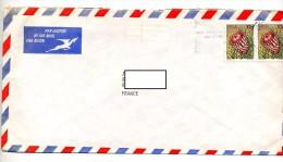 Lettre Flamme Sur  Fleur - Afrique Du Sud (1961-...)