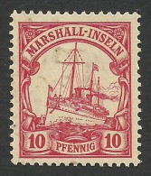German Marshall-Inseln, 10 Pf. 1901, Sc # 15, Mi # 15, MH. - Colony: Marshall Islands