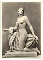 """Postkarte - 2 Scans - Paul Scheurle, """"Najade"""", Haus Der Deutschen Kunst, München, Ca. 1935, NAZI Era Art, Nude Woman - Skulpturen"""