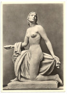 "Postkarte - 2 Scans - Paul Scheurle, ""Najade"", Haus Der Deutschen Kunst, München, Ca. 1935, NAZI Era Art, Nude Woman - Sculptures"