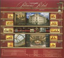 Palais Postal: Poste Centrale De Mexico.(Centenaire)Oeuvre De L´Architecte Italien Adamo Boari. Un B-F Neuf ** - Monuments