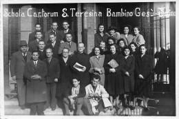 """01651 """"SCHOLA CANTORUM S.TERESINA BAMBINO GESU' TORINO""""  FOTOGRAFIA DICEMBRE 1962 - Persone Anonimi"""