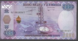 RWANDA  : 2000  Francs  - 2014 - FDS - Rwanda