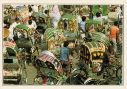BANGLADESH  DACCA:  INGORGO  DI RISCIO'     (NUOVA CON DESCRIZIONE DEL SITO SUL RETRO) - Bangladesh