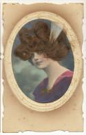Carte A Cheveux Belle Femme Avec Cheveux Reels Real Hair - Mechanical