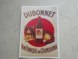 VDS CARTE POSTALE PUBLICITE  DUBONNET VIN TONIQUE AU QUINQUINA - Reclame