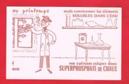 BUVARD - VOS CULTURES ... SUPER PHOSPHATE DE CHAUX ... - Agriculture