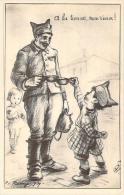 WW2 - A La Tienne, Mon Vieux, Patriotique Illustrée Par Remy, 1939 - Guerre 1939-45