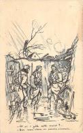 WW1 - Et Si I Gèle Cette Nuit ? Ben Mon Vieux On Pourra S'asseoir. Illustrateur Poulbot - Weltkrieg 1914-18