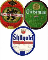 Etiquettes (label)  De Biere ( Beer, Cerveza, Birra, Bier) Brasseries Françaises - Birra