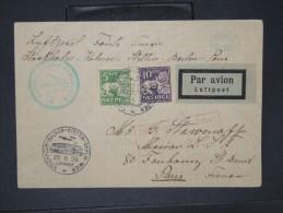 SUEDE-Enveloppe Par Avion De Stockolm Pour Paris En 1929    Aff Plaisant  à Voir    P5780 - Briefe U. Dokumente