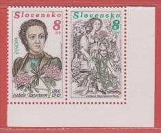 1996 ** (sans Charn., MNH, Postfrish)   Yv 211/2  Mi 250/1 - Slovaquie