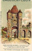 CHOCOLAT LOUIT Porte Fortifiee De Moret  ( LOT T19 ) - Louit