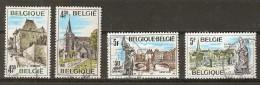 COB 1870/1873  (o)  (Lot 613) - Belgique
