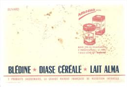 BUVARD   BLEDINE DIASE CEREALE LAIT ALMA   3 Produits JACQUEMAIRE, La Grande Marque Francaise De Nutrition Infan..  .... - Alimentaire