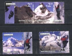 BOLIVIE  BOLIVIEN BOLIVIA 2014 SPORT MONTAGNE MOUNTAIN ESCALADE ANDINISM YV 1553-6 NEUF MNH POSTFRISCH