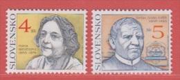 2000 ** (sans Charn., MNH, Postfrish)   Yv 314/5   Mi 361/2 - Slovaquie