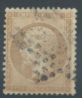 Lot N°29288    Variété/n°21, Oblit  étoile De PARIS, Taches Blanches Dérierre La Nuque - 1862 Napoleon III