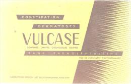 BUVARD  PARIS  VULCASE  Constipation Dermatoses  Comprimés Laxatifs Sans Phenolphtaleine .... ..... - Produits Pharmaceutiques