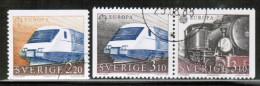 CEPT 1988 SE MI 1501-02 USED SWEDEN - Europa-CEPT