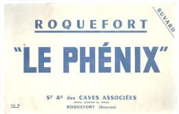 """BUVARD ROQUEFORT ( Aveyron)  """" LE PHENIX """"  Ste Ame Des CAVES ASSOCIEES - Agriculture"""