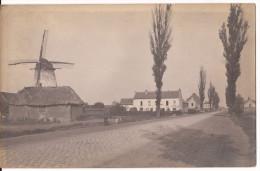 ONBEKENDE Duitse FOTOKAART MOLEN 1914/18 WERVIK? MENEN?  Re 746 - Belgique