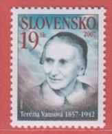 2007 ** (sans Charn., MNH, Postfrish)   Yv 477   Mi 548 - Slovaquie