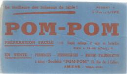 BUVARD  AMIENS   POM POM  La Meilleure Des Boissons De Table  ... - Produits Pharmaceutiques