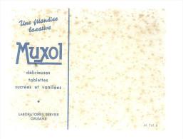 BUVARD  ORLEANS  MUXOL  Une Friandise Laxative  ...   ... - Produits Pharmaceutiques