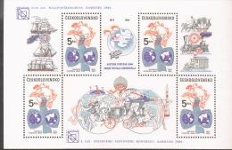Tschechoslowakei Block 59 Weltpostverein UPU ** Postfrisch MNH Neuf - Blocs-feuillets