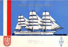 """01677 """" SP8KHT - DAR MLODZIEZY - ZAMOSC - POLONIA """" RADIOAMATORI. CART. ORIGINALE. SPEDITA 1981. - Radio Amatoriale"""